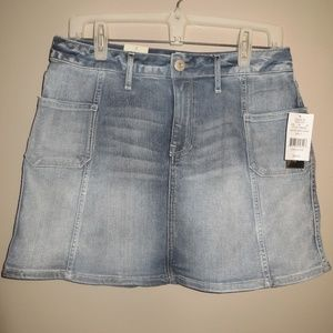 American Rag Cie Blue Denim Skirt Size 7